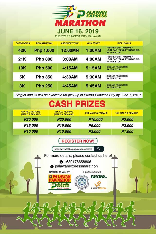 Palawan Express Marathon 2019