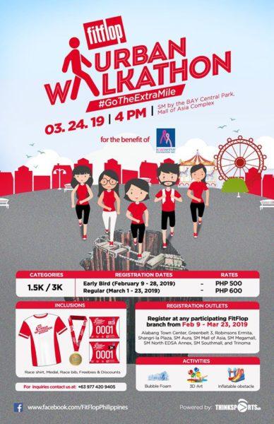 FitFlop Urban Walkathon 2019