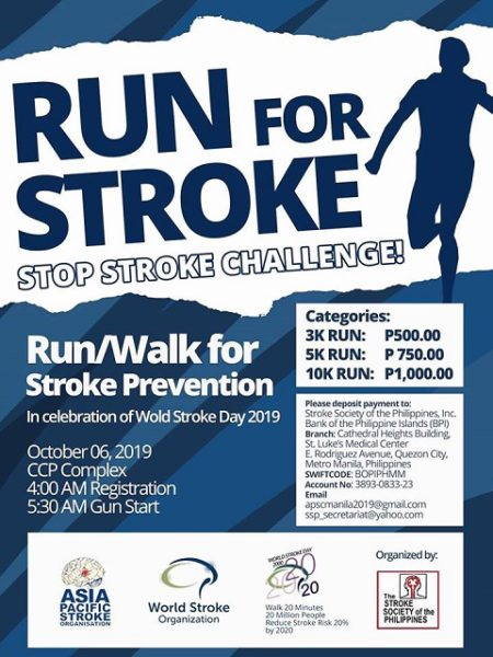Run for Stroke 2019