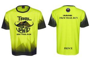 Taal Volcano Trail Run 360 2019 Finisher Shirt