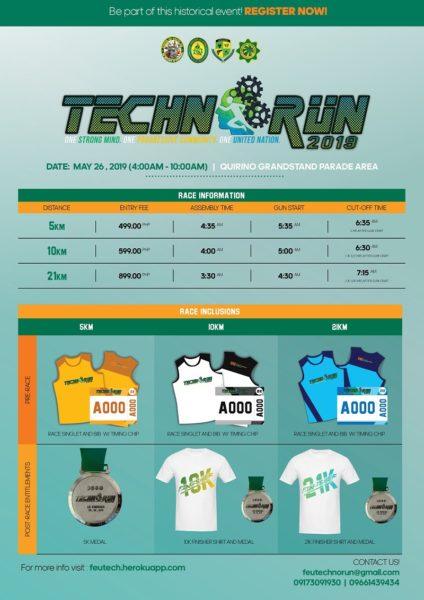 Technorun 2019 Poster
