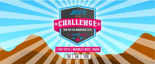 JCI Manila Challenge Run For the Mountains 2019