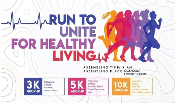 Run to Unite for Healthy Living 2019