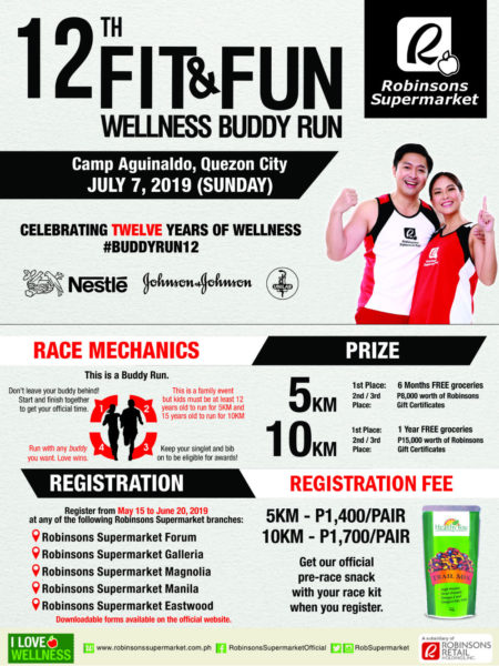 Fit and Fun Wellness Buddy Run 2019