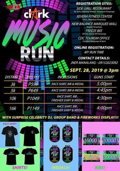 Clark Music Run 2019