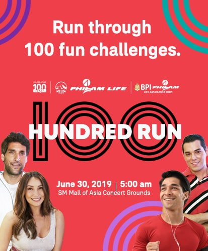 The 100 Run 2019