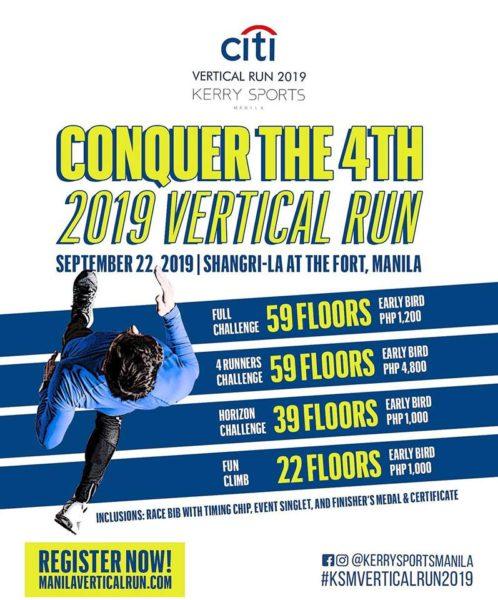 Citi Vertical Run 2019