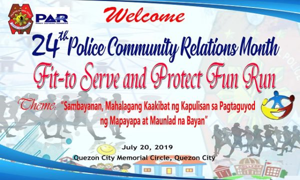 Fit To Serve And Protect Fun Run 2019