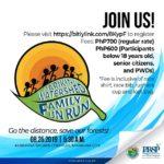 Marikina Watershed Family Fun Run 2019