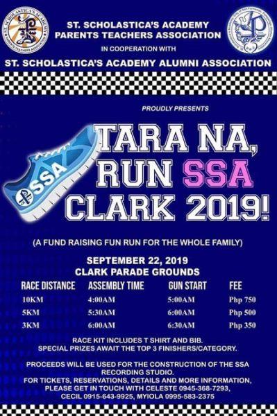 Tara na run ssa Clark 2019