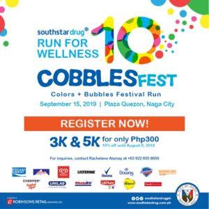 Run For Wellness CobblesFest 2019