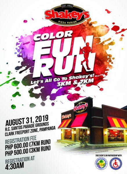 Shakeys Color Fun Run 2019