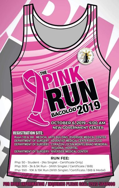 The Pink Run Bacolod 2019