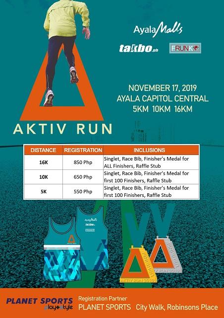 Aktiv Run 2019 Poster