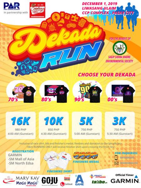Dekada Run Poster 02