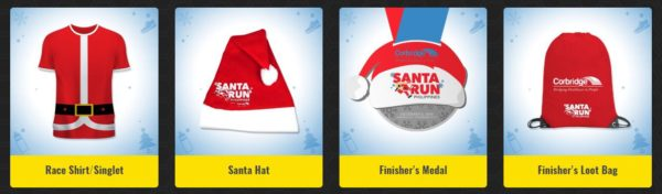 Santa Run 2019 Race Kit
