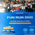 Macquarie Charity Fun Run 2020 Poster