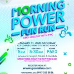 Morning Power Run 2020 Poster