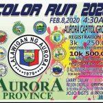 Aurora Color Fun Run Poster