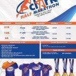 Clark Half Marathon 2020 Poster