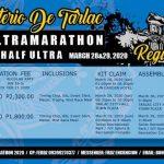 Monasterio De Tarlac Ultramarathon 2020 Poster