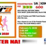 TaRRA Fun Run 2020